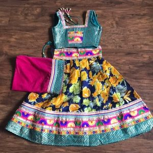 Garba outfit for little girls!!!!